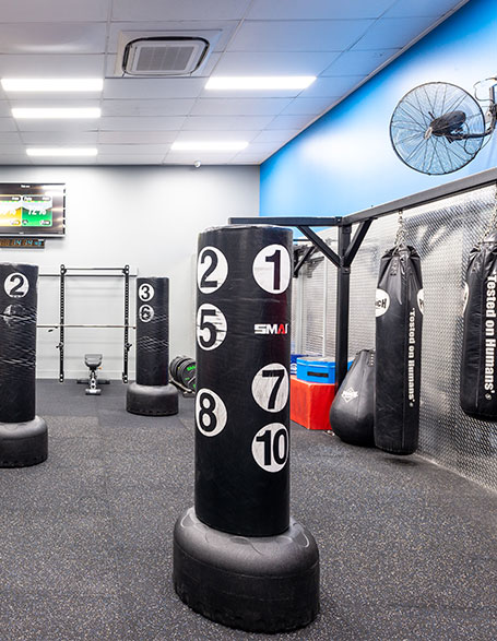 The Fit Lab Health & Fitness Centre, Toowoomba Gym Facilities - Combat / Boxing Studio