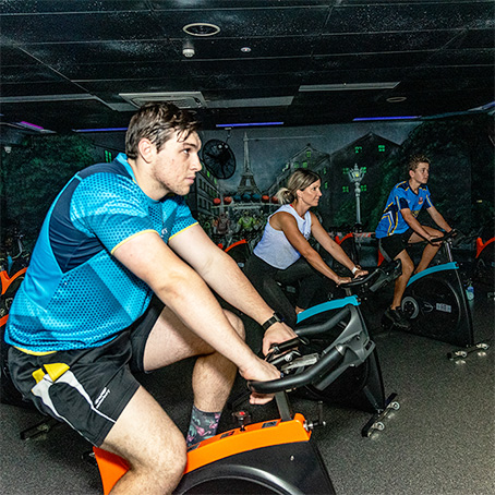 The Fit Lab Health & Fitness Centre, Toowoomba Gym Facilities - Cycle Studio