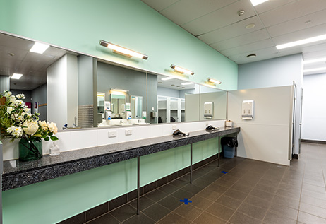 The Fit Lab Health & Fitness Centre, Toowoomba Gym Facilities - Women's Changeroom