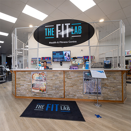 The Fit Lab Health & Fitness Centre, Toowoomba Gym Facilities - Main Gym Reception